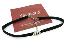 Hope-Happy choker neckpiece