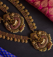Traditional Ruby Lakshmi Bridal Set