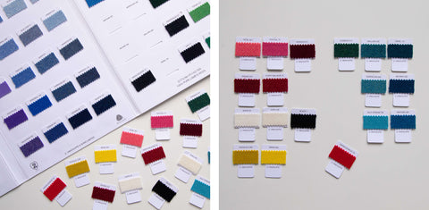 lambswool colour chart