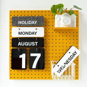 MONOCHROME FOREVER CALENDAR **ORDER BOOK CLOSES 31ST JULY**