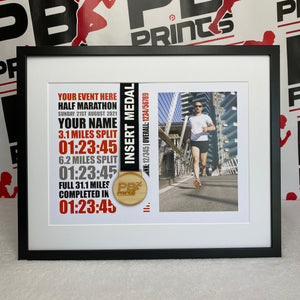 All Half Marathon Events (Photo Design)