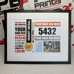 All Half Marathon Events (Complete Design)