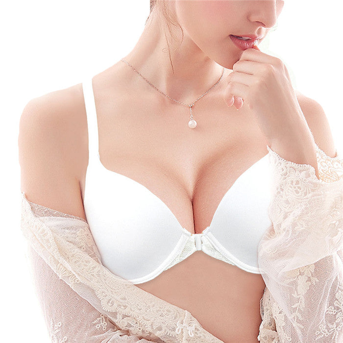 e7672492db6 Lightly Lined Front Closure Lace Racerback Plus Size Perfect Coverage  T-shirt Bra