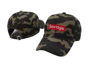 Savage Dad Hat(camo)