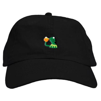 Kermit Tea Dad Hat