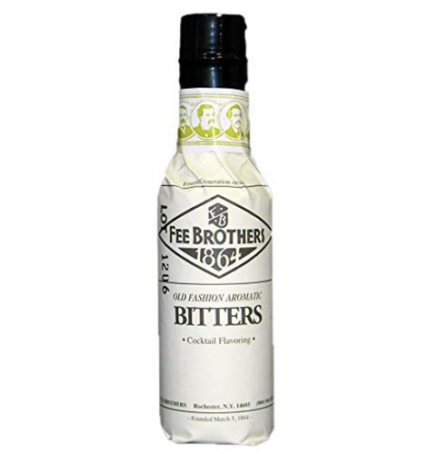 FEE BROTHERS OLD FASHIONED AROMATIC BITTERS-  5oz