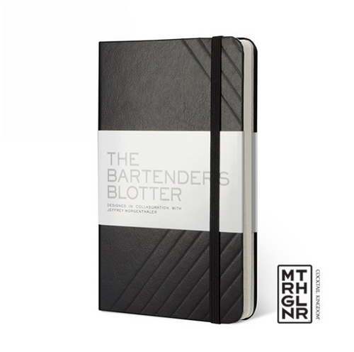 THE BARTENDER'S BLOTTER - Black