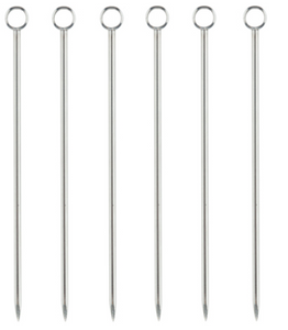 Stainless Steel Cocktail Pick Set by Viski
