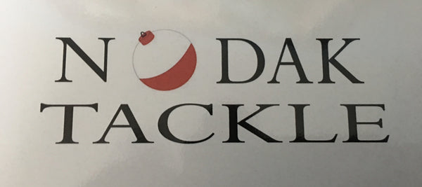 "NODAK TACKLE 7"" x 4"" DECAL"