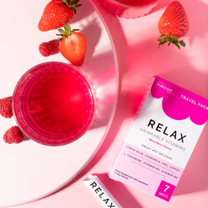 Relax Drinkable Vitamins - Travel Pack