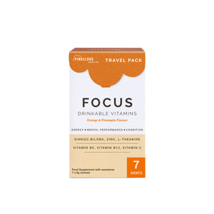 Focus Drinkable Vitamins - Travel Pack