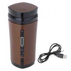 Rechargeable Automatic Stirring Insulated Travel Coffee Mug-Innovation
