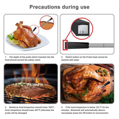 Smart Wireless BBQ Thermometer-Innovation
