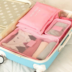 Travel Luggage Organizer / Packing Cubes (6 Pcs)-Innovation