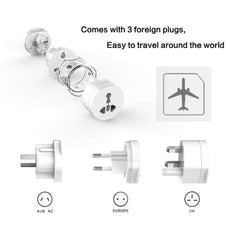 Universal Electrical Plug Adapter/Converter for Travelers (US/ UK/ EU/ AU)-Innovation