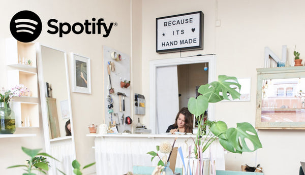 Our favorite Spotify playlist at the store