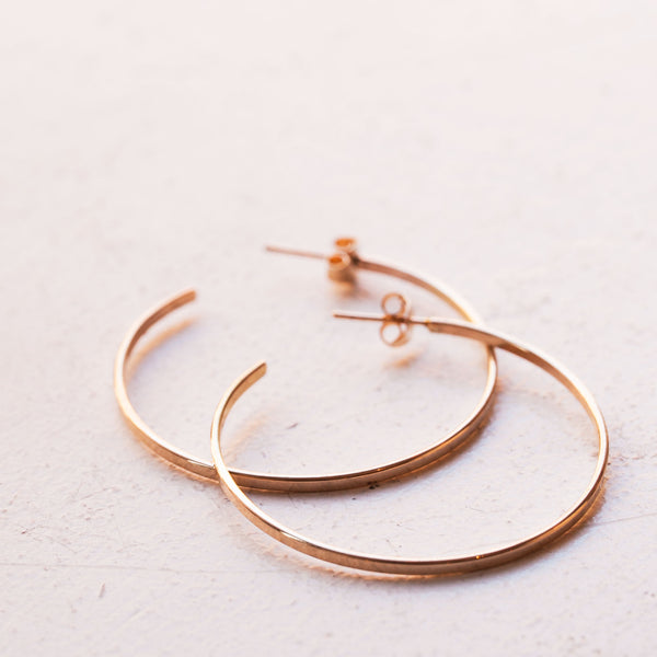 Golden Hoops - LUX