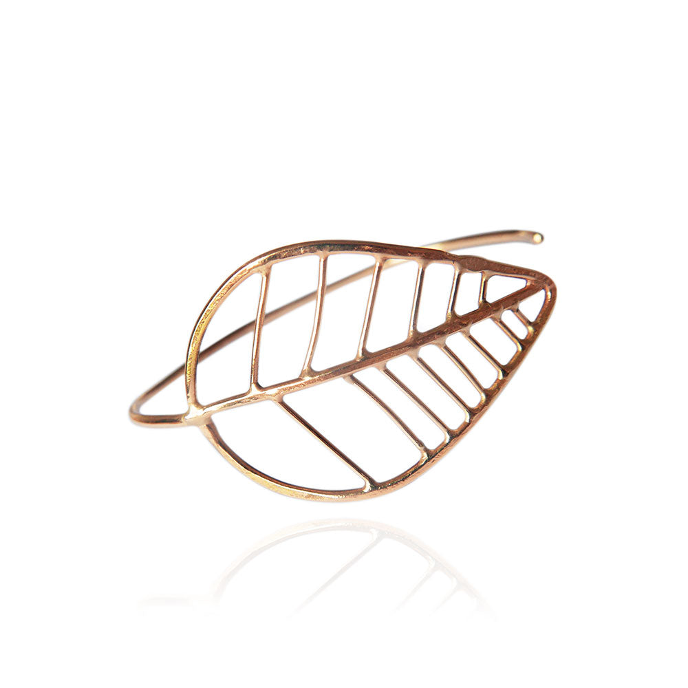 Golden Leaf bracelet
