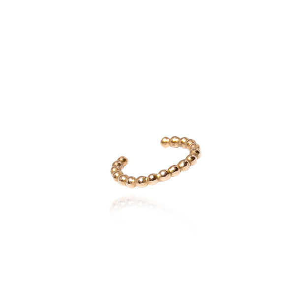 Golden Malin Ear Cuff