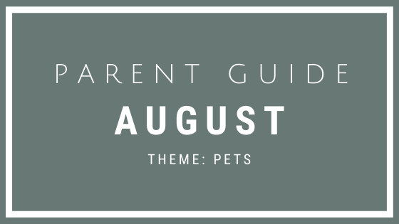 Parent Guide Activities - PETS