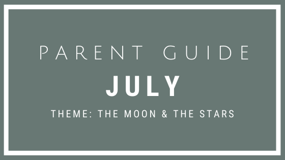 Parent Guide Activities - THE MOON & THE STARS