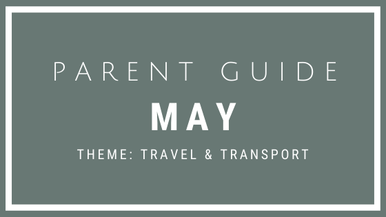 Parent Guide Activities - TRAVEL & TRANSPORT