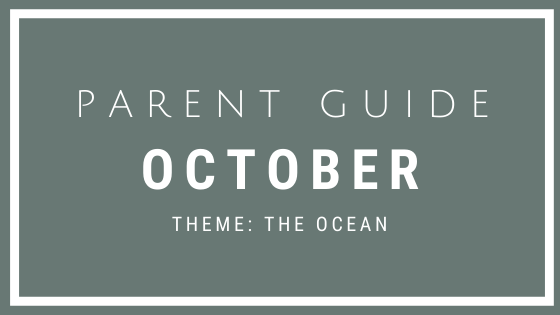 October Parent Guide Activities - THE OCEAN