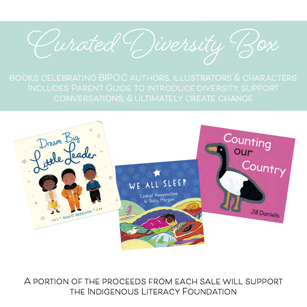 Curated Diversity Box: 0-3 years (board book box)