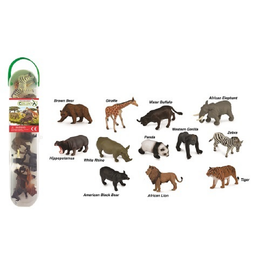 CollectA Tube - Wildlife Animals