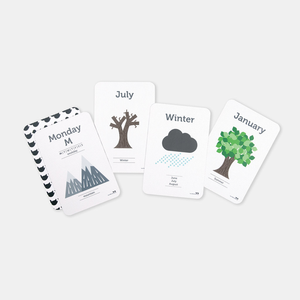 Day, Month, and Season Flash Cards