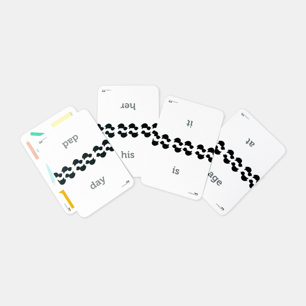 First Reading & Writing Flash Cards