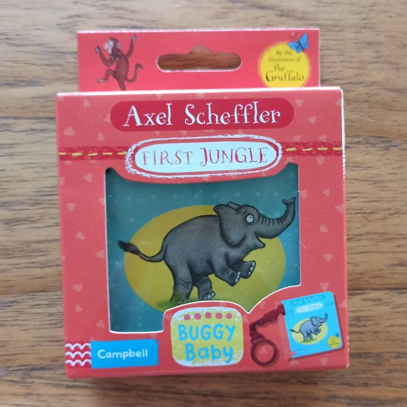 Axel Scheffler First Jungle (Buggy Book)