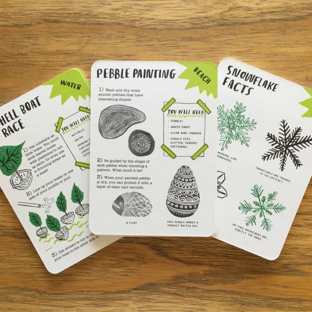 Hello Nature - Activity Cards