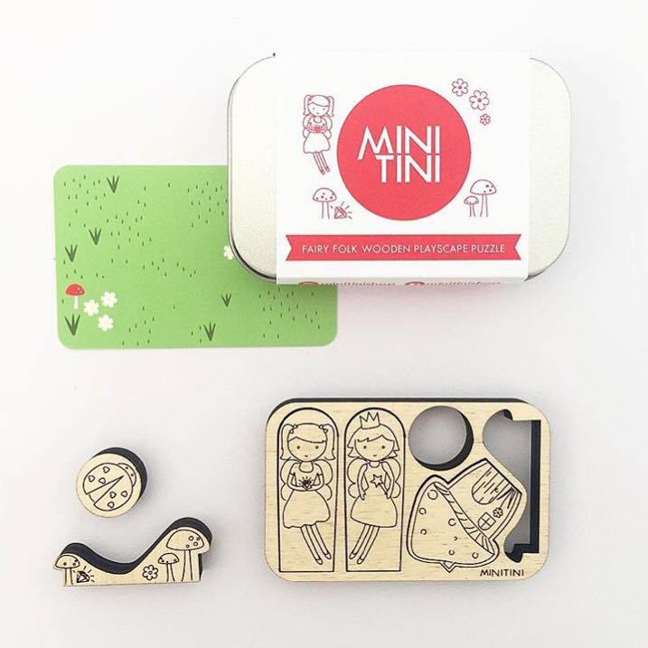 Mini Tini Story Puzzle - Fairy Folk