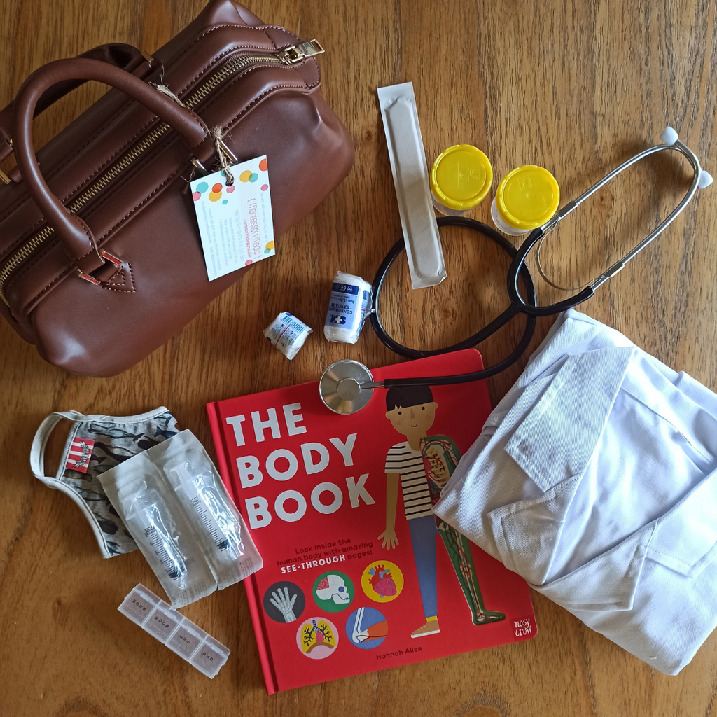 Montessori Medic - Doctor's Kit BUNDLE (2 colours available)