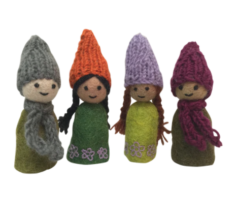 Finger Puppets (Forest Friends)