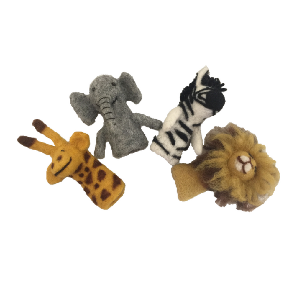 Finger Puppets (African Animals)