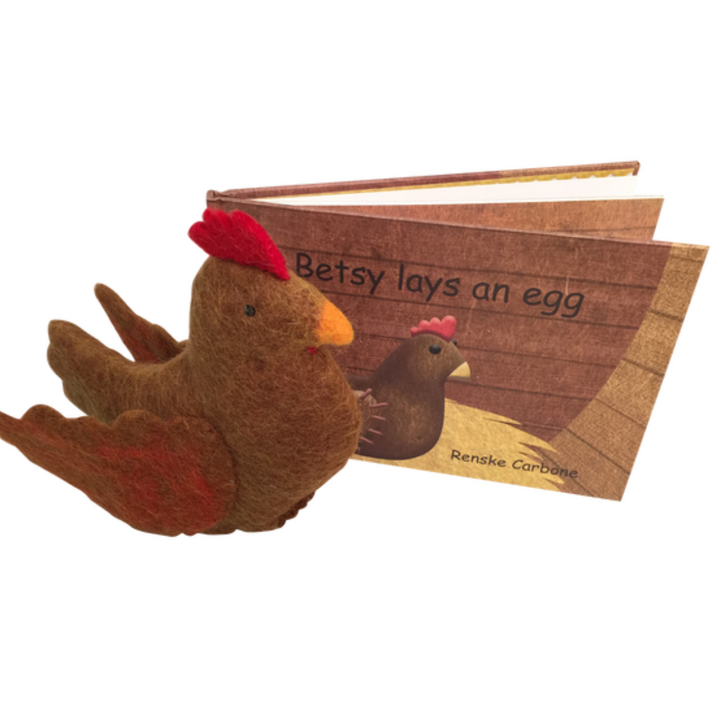 Papoose - Betsy Lays an Egg (Book + Toy)