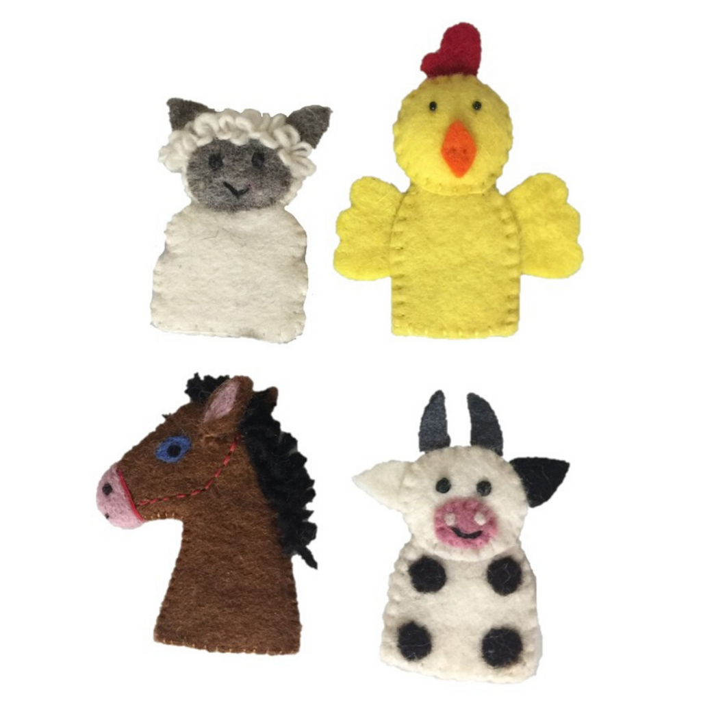 Finger Puppets (Farm Animals)