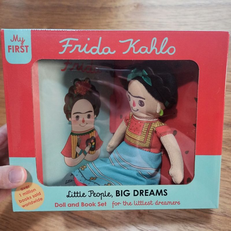 Little People, Big Dreams - Frida Kahlo Doll and Book Set