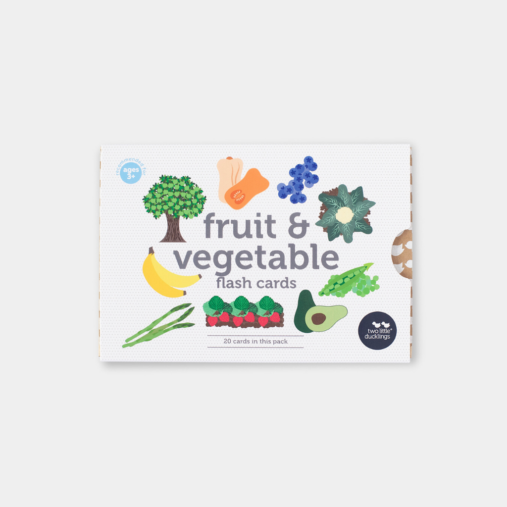 Fruit and Vegetable Flash Cards