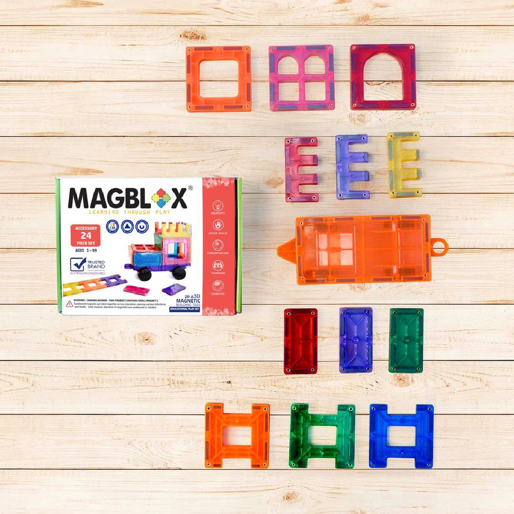 MagBlox 24 Piece Accessory Set