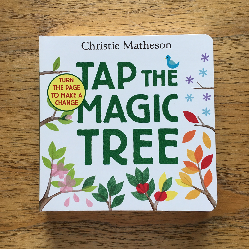 Tap the Magic Tree (board book)