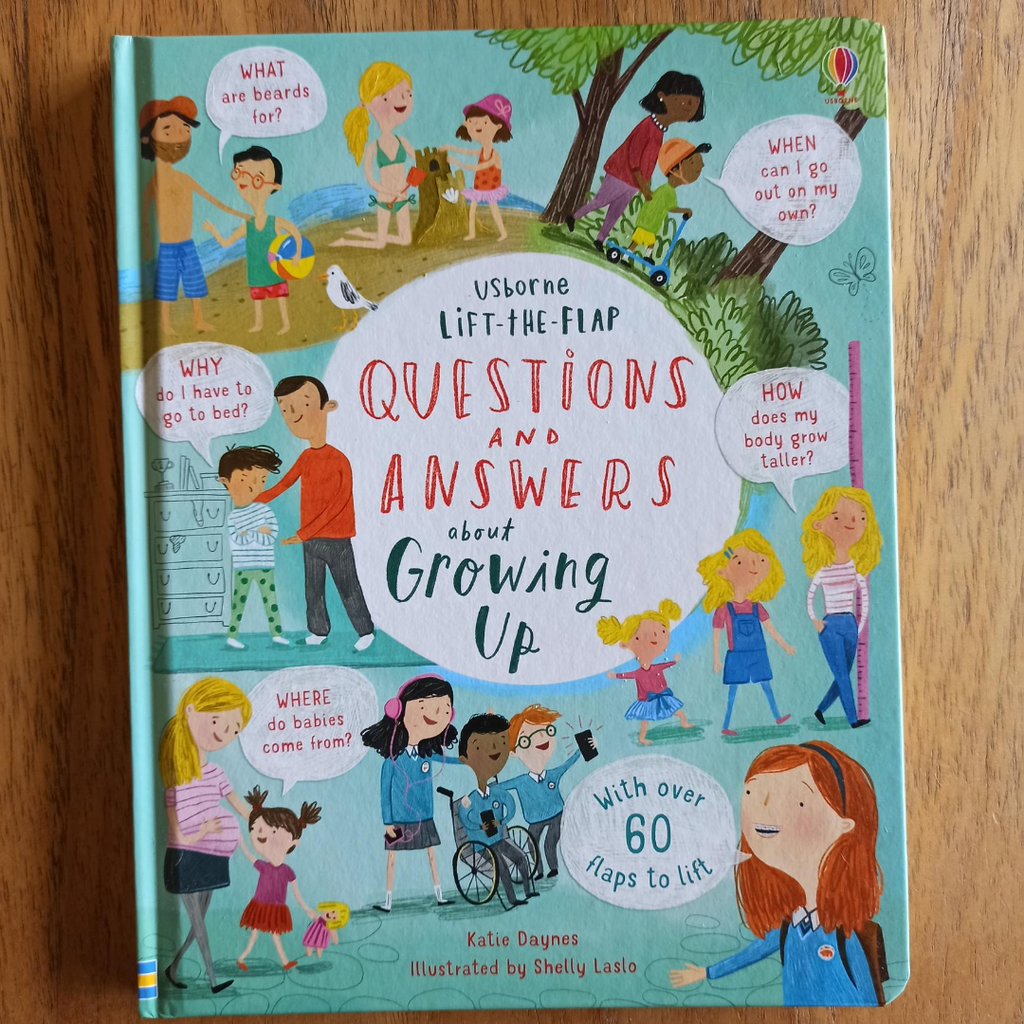 Lift the Flap: Questions and Answers About Growing Up
