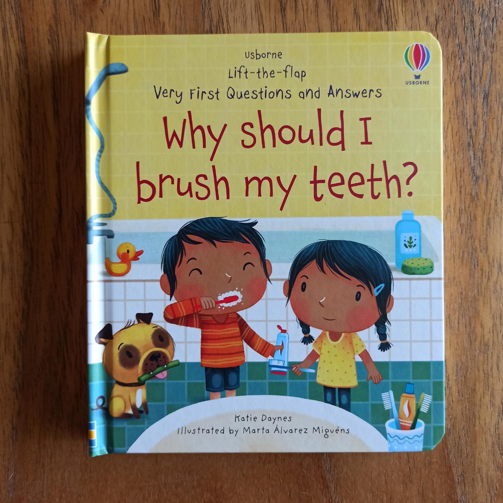 Lift the Flap Very First Questions and Answers: Why Should I Brush My Teeth?
