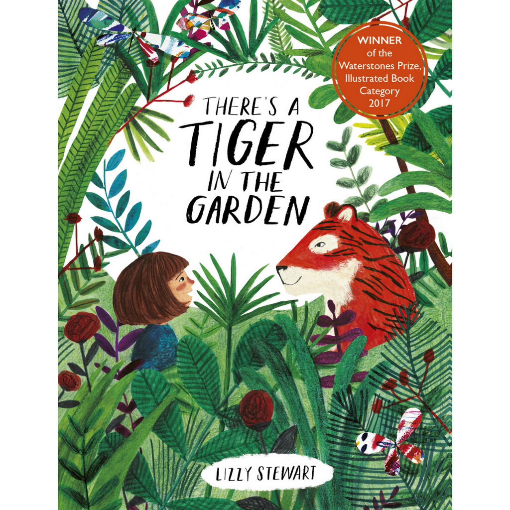 There's a Tiger in the Garden (Board Book)