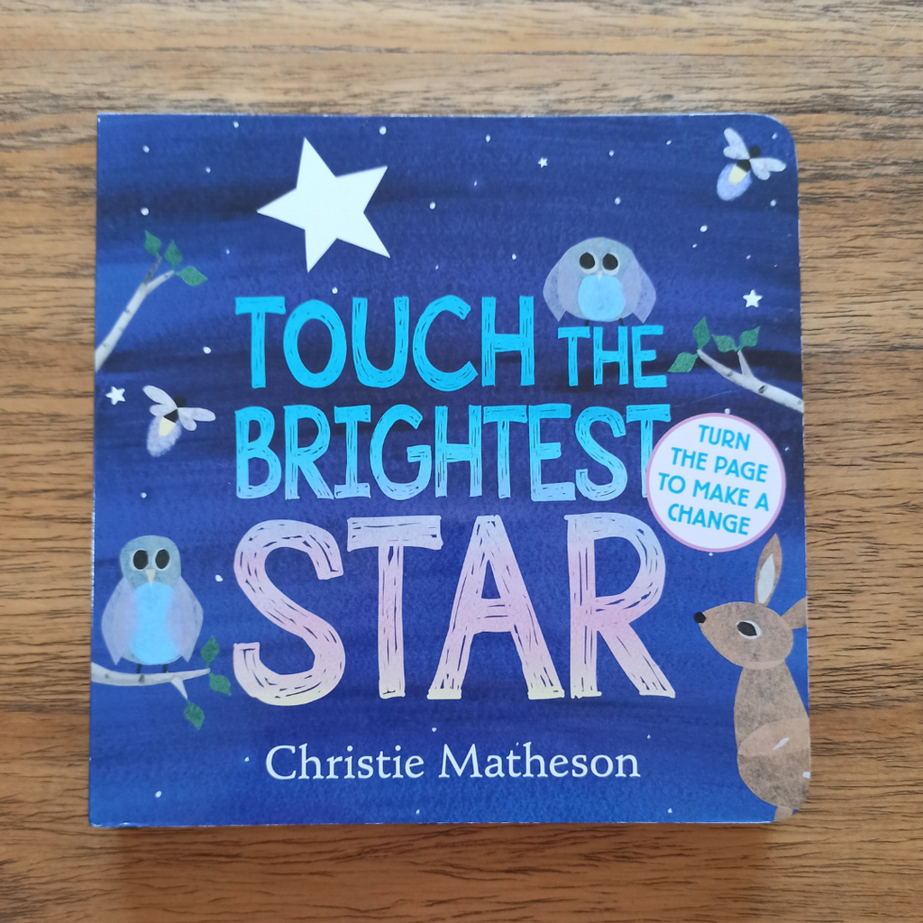 Touch the Brightest Star (board book)