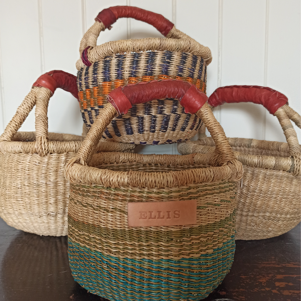 Bitty Basket - Woodland OR Natural