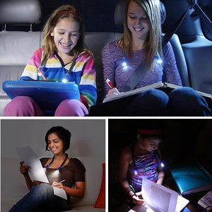 Lampe de Lecture Flexible Mains-Libres