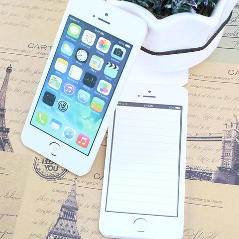 "Image of Mon Cocon de Lecture Pack de 3 Bloc-Notes ""iPhone-Addict"""